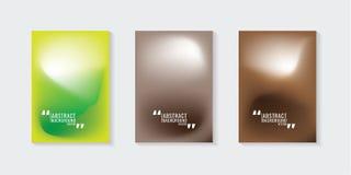 Красочная абстрактная предпосылка градиента шаблон ресторана конструкции принципиальной схемы Вектор i Стоковое Фото