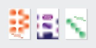 Красочная абстрактная предпосылка градиента шаблон ресторана конструкции принципиальной схемы Вектор i Стоковое Изображение