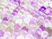 Красочная абстрактная предпосылка с воздушными шарами гелия Стоковые Изображения RF