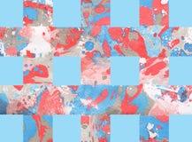 Красочная абстрактная предпосылка с нашивками Стоковое фото RF