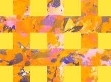 Красочная абстрактная предпосылка с нашивками Стоковые Изображения RF