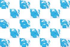 Красочная абстрактная предпосылка с штемпелями Стоковая Фотография RF