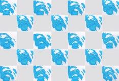 Красочная абстрактная предпосылка с штемпелями Стоковые Фотографии RF