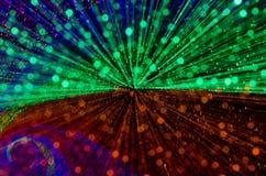 Красочная абстрактная предпосылка, используя нерезкость движения от ligh тоннеля стоковая фотография