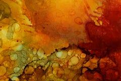 Красочная абстрактная текстура картины Стоковые Изображения