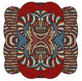 Красочная абстрактная форма Стоковые Изображения