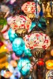 Красочная лампа смертной казни через повешение Стоковые Фото