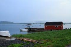 Красочная лачуга рыбной ловли стоковые изображения rf