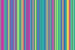 Красочная безшовная картина нашивок абстрактная иллюстрация предпосылки Стильные современные цвета тенденции Стоковые Фотографии RF