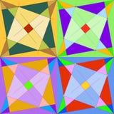 Красочная безшовная мозаика Стоковые Изображения RF
