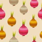 Красочная безшовная предпосылка сделанная из луков Стоковое Изображение
