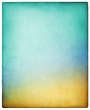 Красочная винтажная бумага Стоковая Фотография