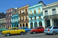 Красочная Гавана Стоковое Изображение