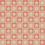 Красочная геометрическая иллюстрация вектора с звездами Стоковая Фотография