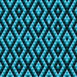 Красочная геометрическая etnic абстрактная предпосылка иллюстрация вектора