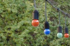 Красочная гирлянда шарика Стоковая Фотография RF