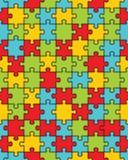 Красочная головоломка, безшовная стоковое изображение rf
