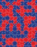 Красочная головоломка, безшовная стоковые изображения