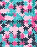 Красочная головоломка, безшовная стоковые фотографии rf