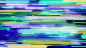 Красочная горизонтальная петля предпосылки нашивок иллюстрация штока