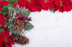 Красочная граница рождества Стоковая Фотография RF