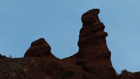 Красочная группа landform Danxia Стоковое Фото