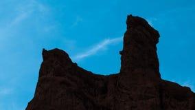 Красочная группа landform Danxia Стоковые Изображения RF