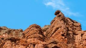 Красочная группа landform Danxia Стоковое Изображение