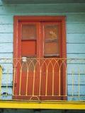 Красочная деревянная Латинская Америка Южная Америка Boca Буэноса-Айрес Аргентины Ла района Caminito дома славная Стоковая Фотография