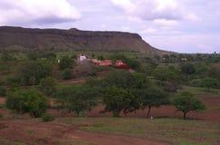 Красочная деревня Satara Стоковые Изображения RF