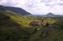 Красочная деревня Satara-II Стоковая Фотография RF