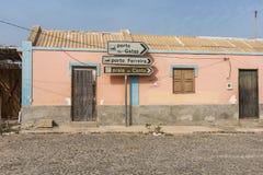 Красочная жилая перспектива горжетки Fundo das Figueiras дома стоковая фотография