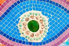 Красочная застекленная плитка Стоковые Изображения RF