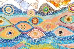 Красочная застекленная плитка Стоковая Фотография