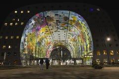 Красочная зала рынка, Роттердам Стоковая Фотография RF