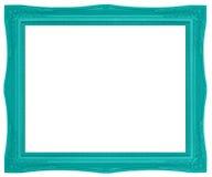 Красочная зеленая картинная рамка Стоковое фото RF