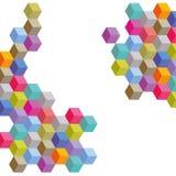 Красочная иллюстрация блоков стоковые изображения rf
