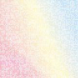 Красочная иллюстрация вектора eps10 предпосылки мозаики красная голубая иллюстрация иллюстрация вектора
