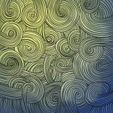 Красочная линейная волнистая текстура бесплатная иллюстрация