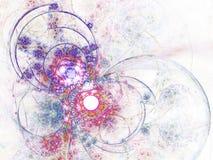 Красочная и светлая картина фрактали Стоковые Изображения RF
