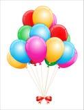 Красочная иллюстрация воздушного шара Стоковые Фотографии RF