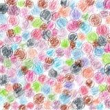 Красочная иллюстрация предпосылки карандашей румынских монеток Стоковые Изображения RF