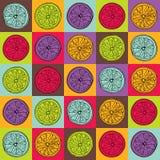 Красочная картина лимона Стоковые Фотографии RF