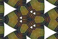 Красочная картина калейдоскопа для дизайна и предпосылок Стоковые Изображения RF