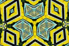 Красочная картина калейдоскопа для дизайна и предпосылок Стоковое Фото
