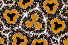 Красочная картина калейдоскопа для дизайна и предпосылок Стоковое фото RF