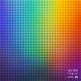 Красочная квадратная предпосылка конспекта радуги иллюстрация вектора