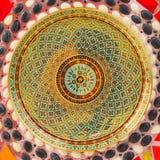 Красочная керамическая предпосылка Стоковая Фотография