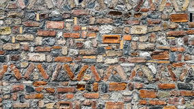 Красочная кирпичная стена, Турция Стоковые Изображения RF
