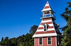 Красочная колокольня с Dormers крыши стоковые изображения rf